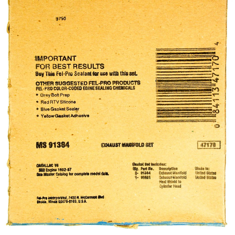 Exhaust Manifold Gasket Set FEL-PRO MS 91384