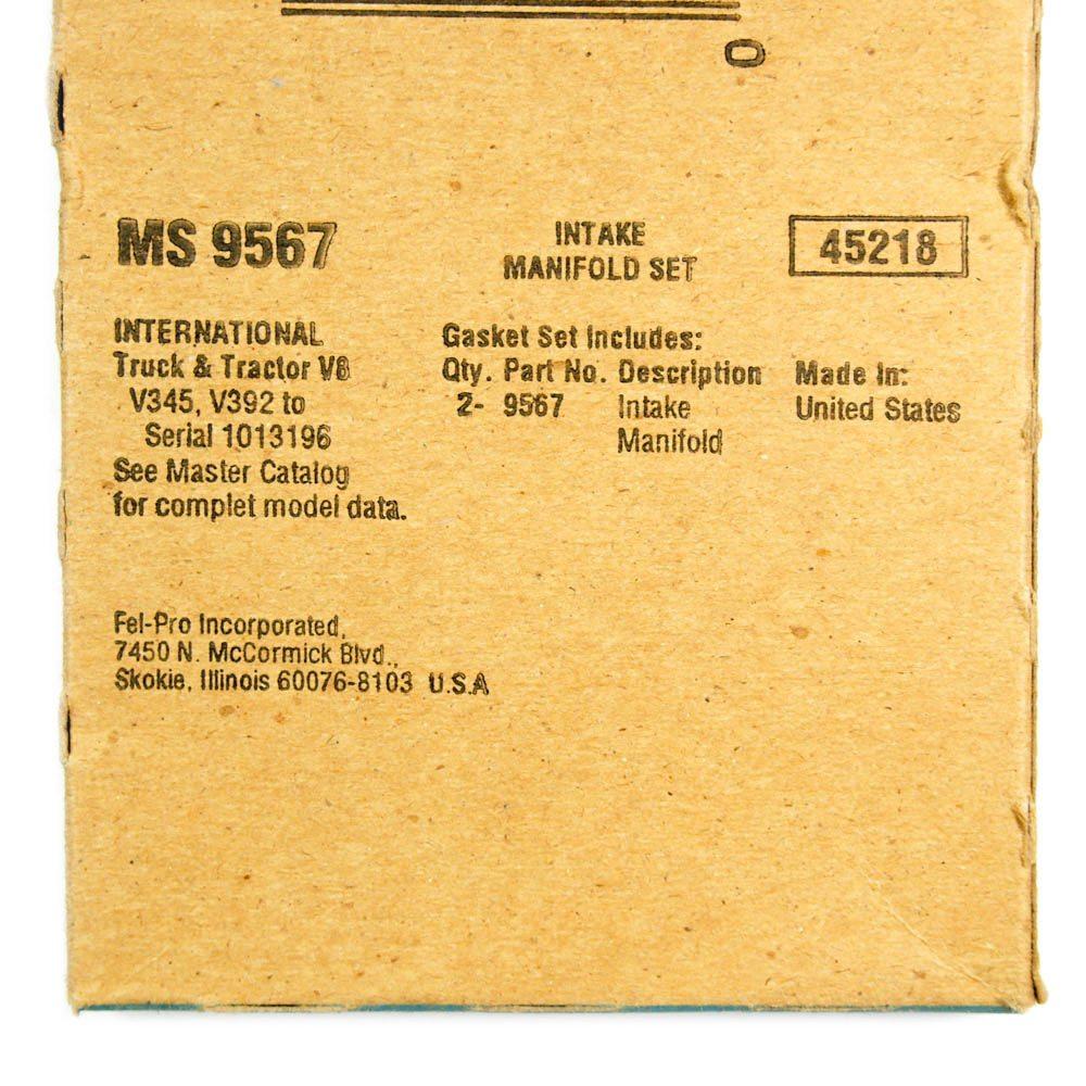 Fel-Pro MS 9567 Engine Intake Manifold Gasket Set