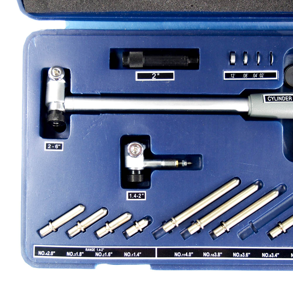 Electronic Federal Gage Products : Fowler electronic bore gage to range