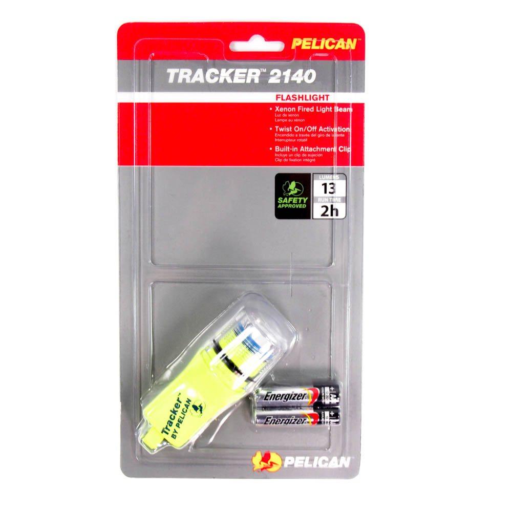 Yellow Tracker Flashlight PELICAN 2140