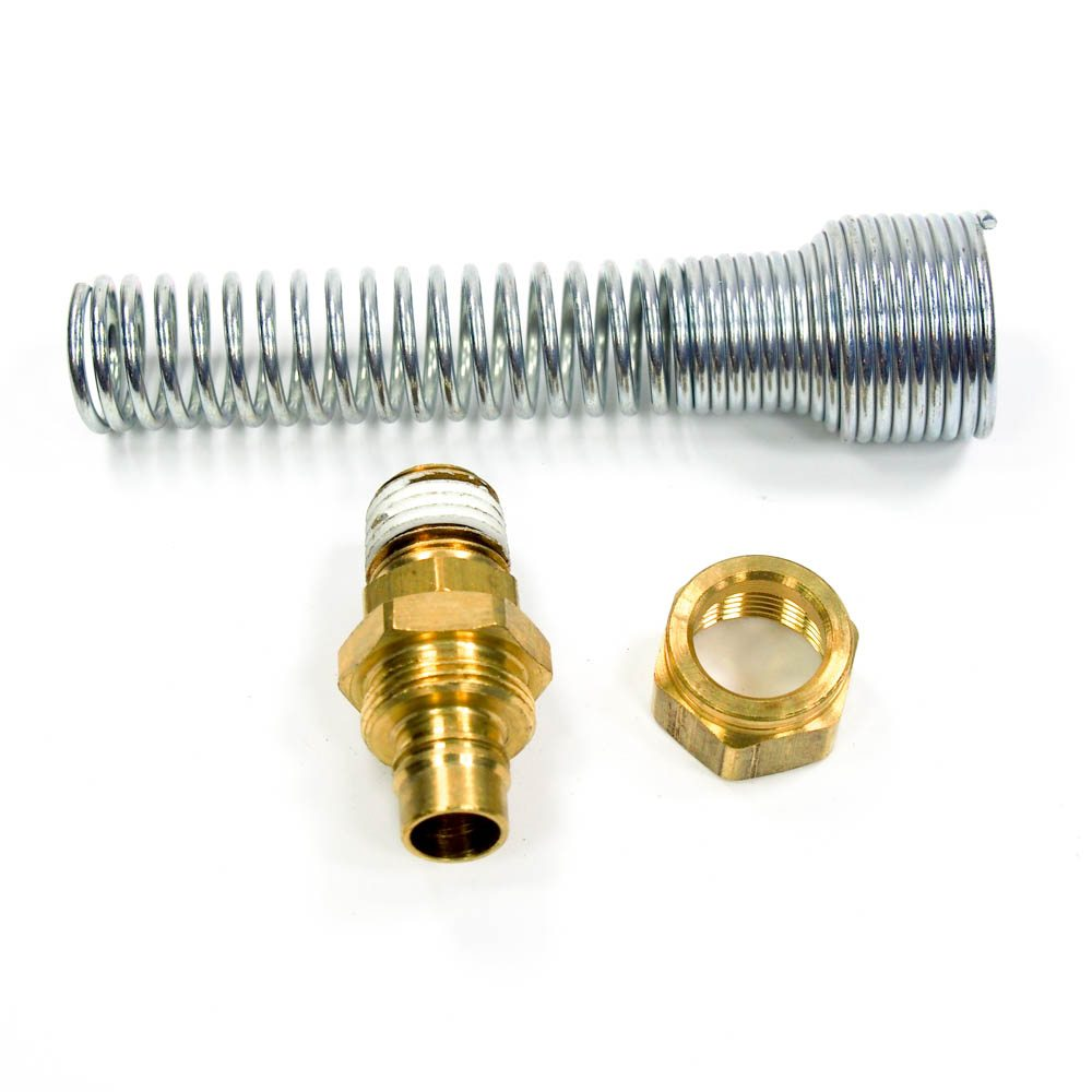 NYCOIL 01640 Field Attachable Fitting for Nylon Self-Storing Air Hose