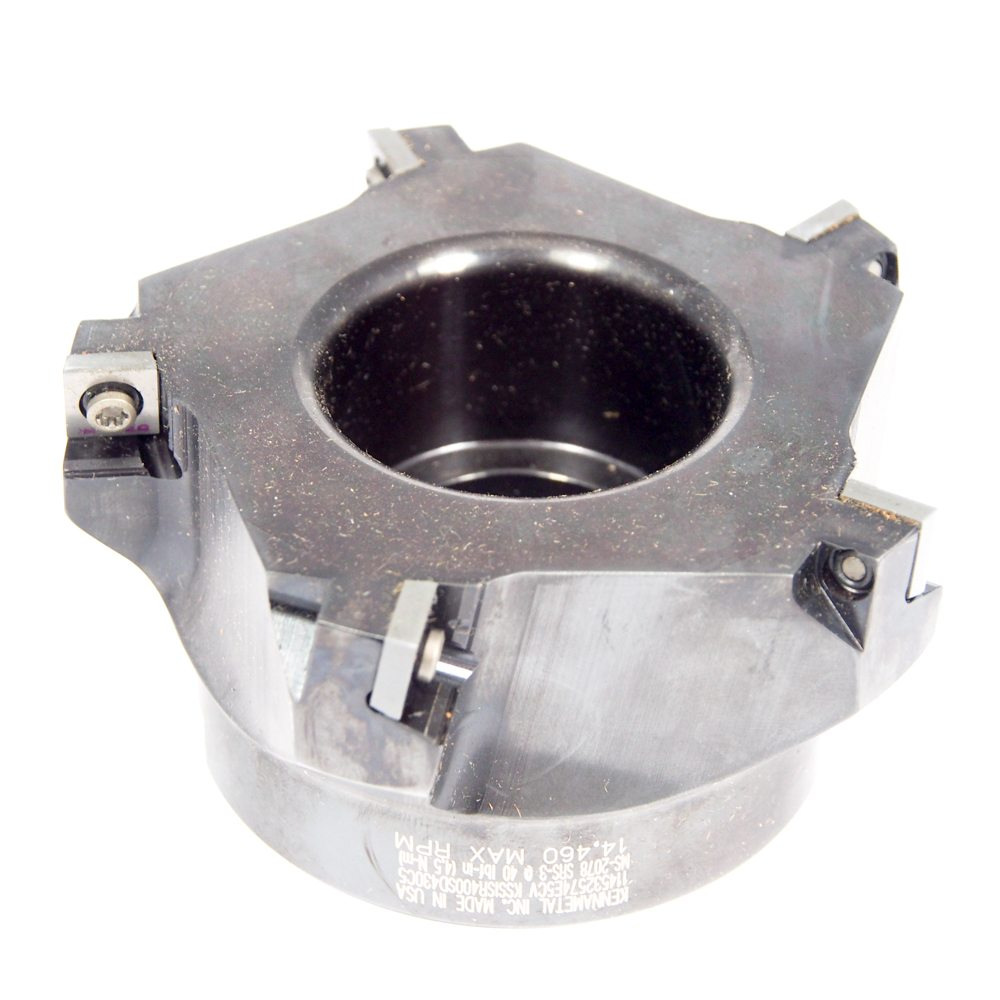 KENNAMETAL Indexable Square Shoulder Face Mill 4 KSSISR400SD430C5 1025025