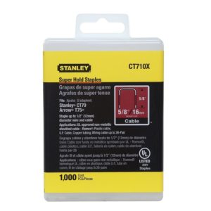 Stanley CT710X Super Hold Staples