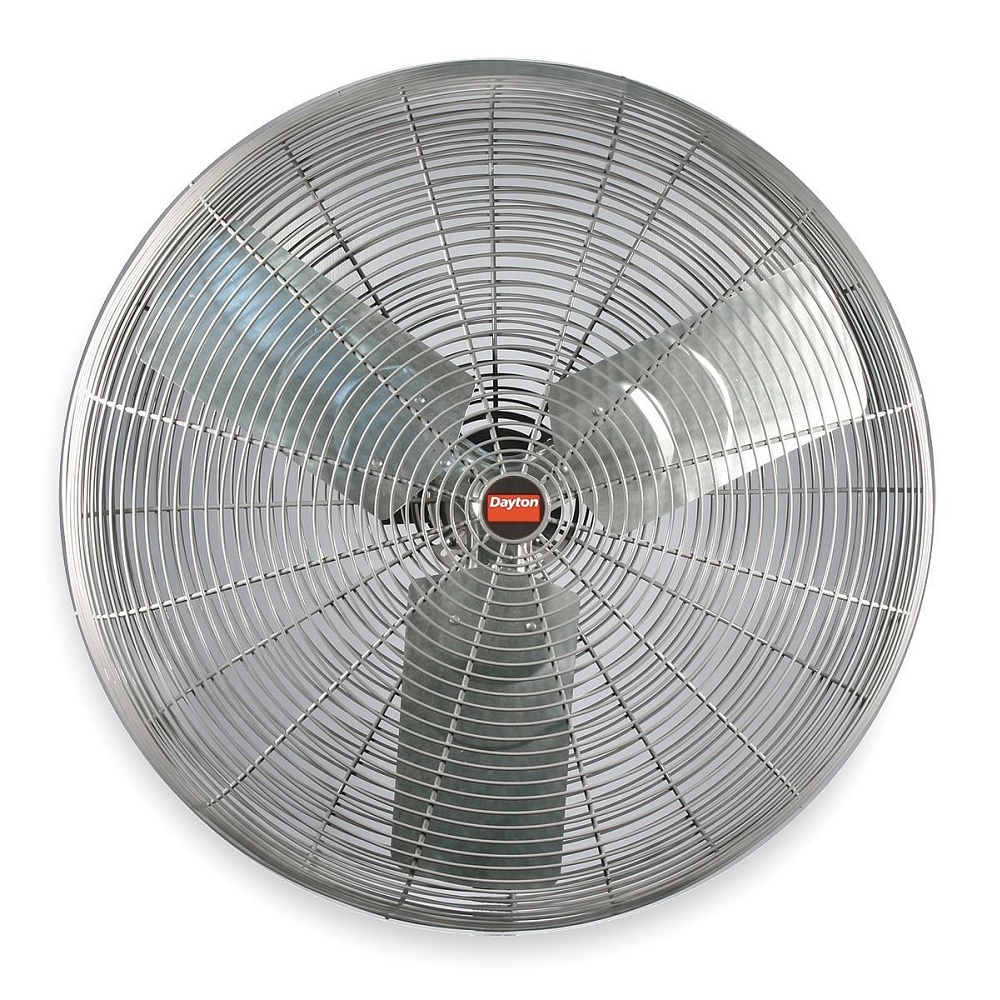 Dayton Industrial Fans And Blowers : Dayton vcf quot industrial air circulator fan v