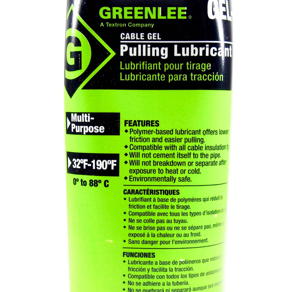GreenLee Gel-Q Cable/Wire Pulling Lubricant