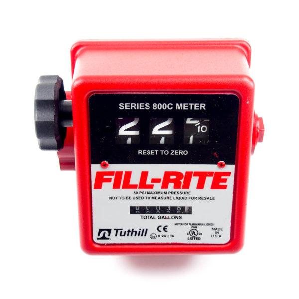 Flowmeter,3//4 FNPT FILL-RITE 807C