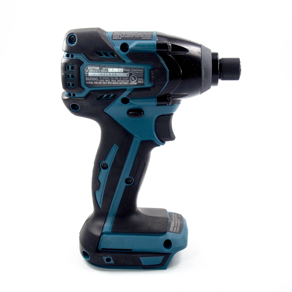 makita xdt08z 18v lxt lithium ion brushless cordless impact driver rh dansdiscounttools com White Makita Impact Driver Makita Brushless Impact Driver Review