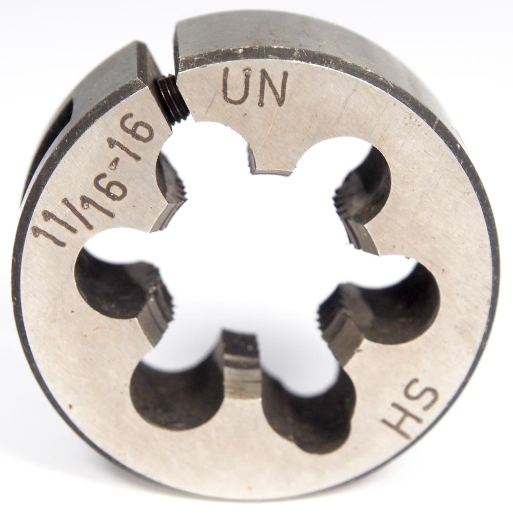 """1-11 1//2 NPT HSS Adjustable Round Die Pipe Die 2-1//2/"""" O.D."""