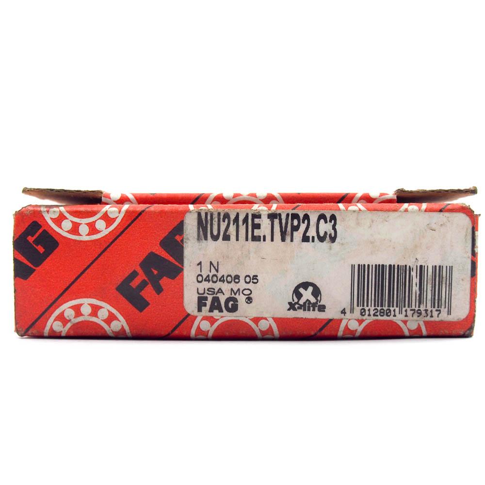NU211E-TVP2 FAG Cylindrical Roller Bearing