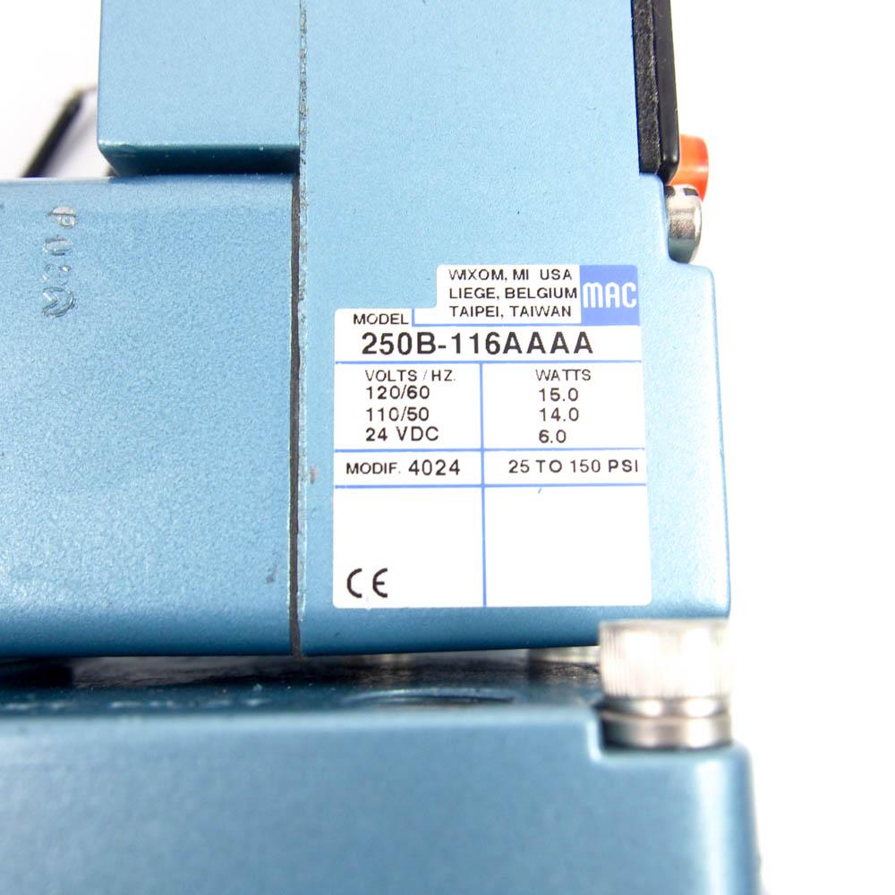 Mac 58d 32 116aa Series Solenoid Operated 3 Way Valve 1 4 Nptf Electrical Wiring