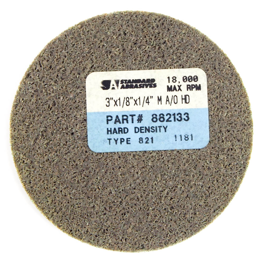 "Standard Abrasives 722843 Straight Cartridge Roll 1-1//2/"" x 2/"" 100 Grit 25 Pcs"